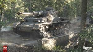 Обои War Thunder Танки Pz.Kpfw. VI Ausf. Игры фото