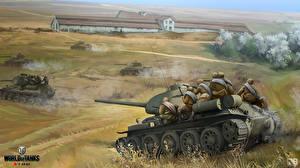 Обои World of Tanks Танки Nikita Bolyakov Battle for Razdelnaya (Odessa) Игры фото