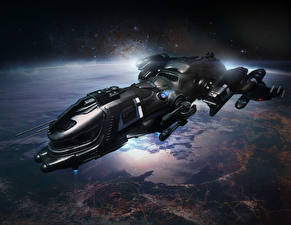 Обои Star Citizen Корабли Freelancer DUR Игры Космос Фэнтези фото