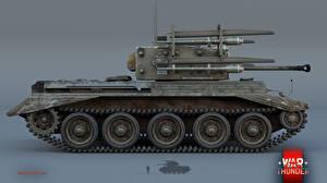 Обои War Thunder Танки Cromwell V RP3 Игры фото