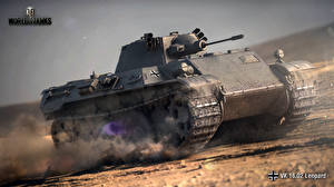 Обои World of Tanks Танки VK 16.02 Leopard Игры фото
