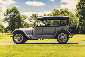 Обои Ретро Сбоку 1913 Stevens-Duryea Model C-Six 5-passenger Touring Автомобили картинки