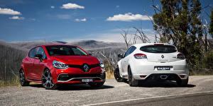 Обои Renault Двое Clio RS Автомобили картинки