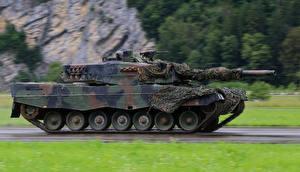 Обои Танки Leopard 2 Армия фото