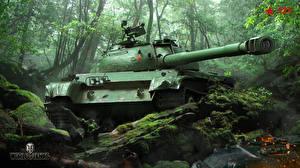 Обои World of Tanks Танки 121, Chinese tanks Игры фото