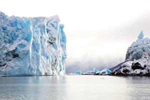 Обои Айсберги Природа