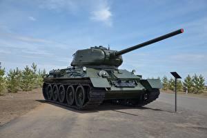 Обои Танки T-34-85 Армия фото