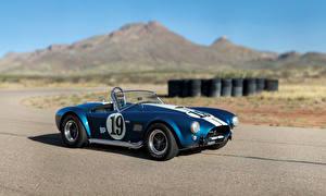 Обои Shelby Super Cars Ретро Синий 1964 Cobra 289 (CSX 2326) Автомобили картинки