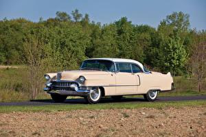 Обои Cadillac Ретро 1955 Sixty-Two Coupe de Ville Автомобили картинки