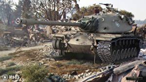 Обои World of Tanks Танки М103 Игры фото