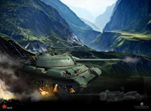 Обои World of Tanks Танки Type 62 Игры фото