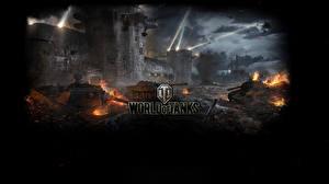 Обои Танки World of Tanks Игры фото