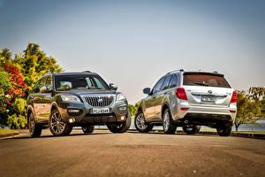 Обои Двое Металлик 2015-16 Lifan X60 BR-spec Автомобили картинки