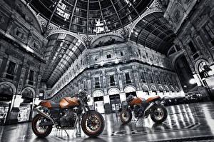 Обои Двое 2014-16 SWM Gran Milano 440 Special Мотоциклы картинки