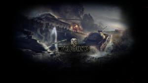 Обои World of Tanks Танки object 430, object 416, object 140 Игры фото