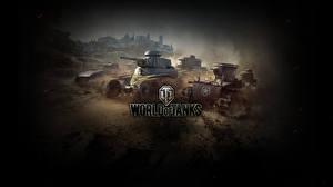 Обои World of Tanks Танки Игры фото