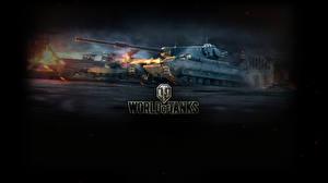 Обои World of Tanks Танки Conqueror Игры фото