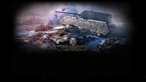 Обои World of Tanks Танки Maus Игры фото