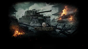 Обои World of Tanks Танки Type 5 Heavy Игры фото