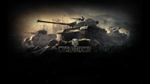Обои World of Tanks Танки WZ-132 Игры фото