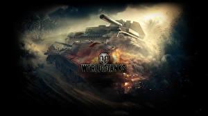 Обои World of Tanks САУ Танки Waffenträger auf Pz. IV Игры картинки