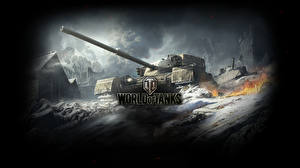 Обои World of Tanks Танки FV4202 (P) Игры фото