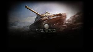 Обои World of Tanks Танки Т-62А Игры фото