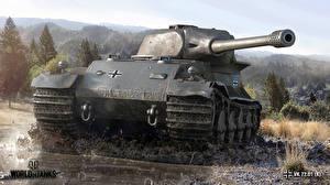 Обои Танки World of Tanks VK 72.01 (K) Игры фото
