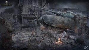 Обои World of Tanks Танки Немецкий Pz.Kpfw.IV Игры фото