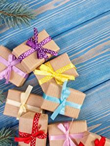 Обои Рождество Подарки Доски