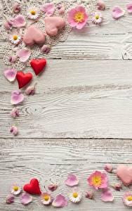 Картинка День всех влюблённых Доски Сердце