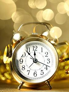 Фото Рождество Часы Будильник