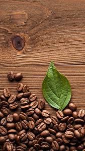 Картинка Кофе Зерна Доски Еда