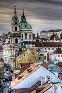 Картинка Прага Чехия Дома HDRI