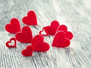 Обои День всех влюблённых Сердечко Боке