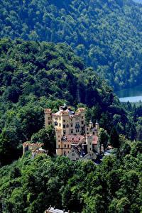 Фото Германия Замки Леса Hohenschwangau Castle Fussen