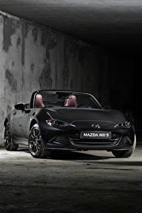 Картинка Mazda Серые Кабриолет 2020 MX-5 Eunos Edition автомобиль
