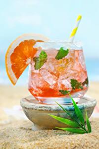Обои Напитки Апельсин Коктейль Стакан Продукты питания