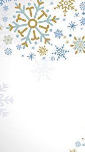 Обои Текстура Снежинка Белом фоне