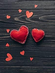 Обои для рабочего стола День святого Валентина Серце Доски Шаблон поздравительной открытки