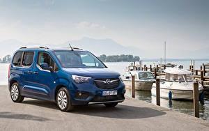 Фотографии Opel Минивэн Синих Металлик 2018-19 Combo Life автомобиль