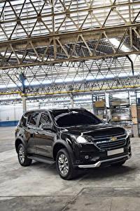 Фотография Chevrolet Черная Металлик 2019 TrailBlazer LTZ Perfect Edition II Автомобили