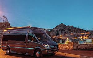 Картинка Мерседес бенц 2014 Roadtrek CS Adventurous Машины