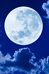 Обои Небо Облако Луны