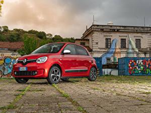 Картинки Renault Красный Металлик 2019 Twingo Worldwide авто
