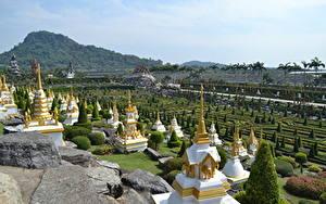 Фотография Таиланд Тропики Парки Дизайн Pattaya, Nong Nooch tropical Park, Chonburi province Города