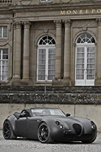 Фотография Wiesmann Серый Кабриолета Родстер 2011 Roadster MF5 Black Bat авто