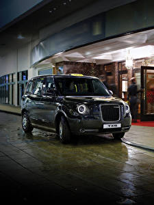 Картинка Такси - Автомобили Металлик 2017 London Taxi Company TX5 Автомобили