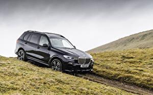 Картинки BMW Черная Металлик Универсал 2019 X7 xDrive30d M Sport