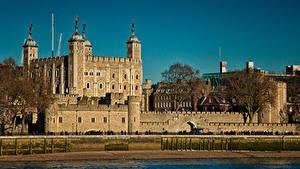 Фотографии Великобритания Крепость Лондоне Tower